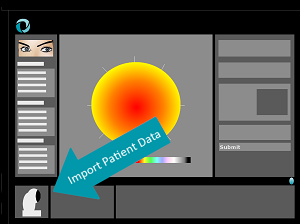 1. import patient data